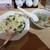上海ワンタン王 - 料理写真:特製まぜご飯+ナズナ入り大ワンタン4個¥850