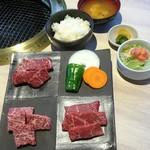 かどや - 【お昼限定】赤身肉コース
