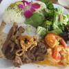 Barefoot Beach Cafe - 料理写真:【Queen's Surf+Turf Plate 18$】