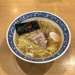 中華そば 青葉 - 中華そば(並)750円