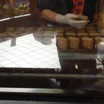 満願堂 - 芋きんを焼いてます