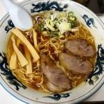 ぺーぱん - 料理写真:正油ラーメン