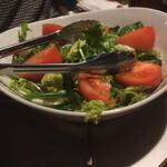 123570409 - コースの野菜大好きサラダ