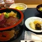 寿司海鮮 たはら - 日替わり 鮪漬丼セット