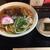 風林火山 - 料理写真:肉うどんとおむすび