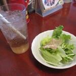 PIZZA DINING JOYs - 料理写真:セットのサラダ&ドリンク!
