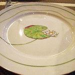 ル レストラン マロニエ - このお店のプレートはエルメスが多いんです