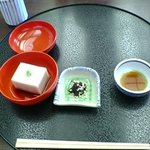 1236290 - そばづくし(そばみそ、そば豆腐)