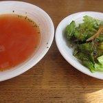 カフェ・ロシェ - スープとサラダ