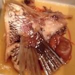 ぽろ ホームメイドキッチン - 真鯛の梅肉煮!