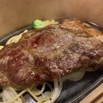123601907 - サーロインステーキ(150g)とチキンステーキのセット