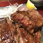大阪焼肉・ホルモン ふたご - 厚切りでミディアムレア(西武池袋本店「お食事ちゅうぼう」)
