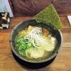 SALT - 料理写真:山椒塩ラーメン+ワンタン