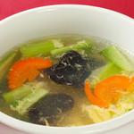 11.五目野菜と卵スープ