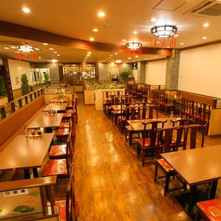 《中華の臨場感溢れる空間で貸切宴会パーティー》