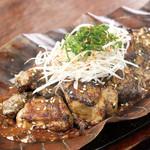 宮崎県日南市 塚田農場 - 名物地鶏の山椒味噌炭火焼