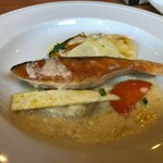 シャルル - ランチ・スプーンコースのメイン魚。サーモン
