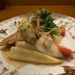 コンペイトウ - 10種類の彩り茹で揚げ野菜