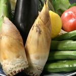 宮した - 春の食材満載!竹の子、空豆、蕗の薹、蛍烏賊、鯛、桜海老など
