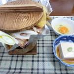 志賀高原サンバレー志賀の湯ホテル - 鍋焼きうどん