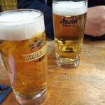 123610922 - 生ビール。グラスも色々(笑)