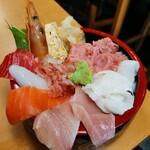 123613403 - おまかせ丼゚+.゚(*´∀`)b゚+.゚