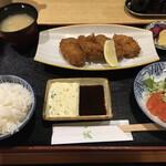 123619536 - カキフライ定食