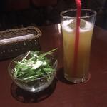 cafe bar Bank - ♢パインジュース