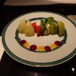 バー フラミンゴ - フルーツ盛り