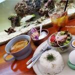 カフェと海遊び Sunny Season - スープカレーセット+250円