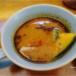 カフェと海遊び Sunny Season - スープカレー(モーニングセット)