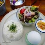 カフェと海遊び Sunny Season - スープカレーセット(ライス・トースト選べます)