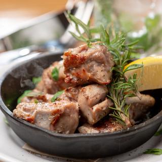 絶品生ハム&肉料理。ボーダレスなカジュアルイタリアン