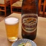 12363699 - 瓶ビール 550円
