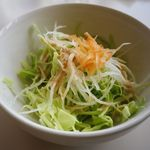 ふーど工房しまうま - 料理写真:まず、サラダ。