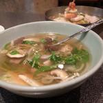 璃衛 - 若鶏のスープ(はるさめ入りでした)