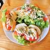 ウレタノ カフェ - 料理写真:フレッシュトマトとモッツァレラチーズサンド 800円