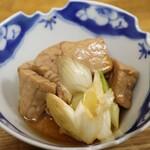 立呑み処 あべの銀座 - マグロ煮付け