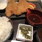 和食バル 音音 - のど黒フライ