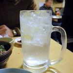 かどや - レモンサワー(300円)