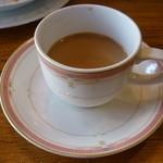 カフェ・ド・天竺 - ランチのチャイ