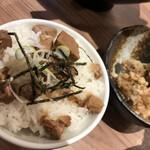 横浜家系ラーメン 銀家 - ミニチャーシュー丼