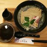 123643790 - ◆アゴと貝出汁のあっさりつけ麺◆♪昆布水♪