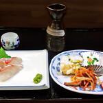 花水木 - お刺身定食 ( 真鯛 ) 2019/11/21