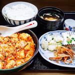 花水木 - 激辛麻婆豆腐定食 2019/11/21
