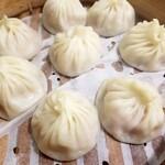 盛園絲瓜小籠湯包 - 料理写真: