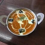 インド・ネパール料理 エベレスト - チキンとナス