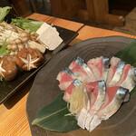 産直青魚専門 池袋 御厨 - 鯖しゃぶ