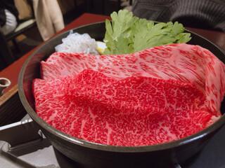 荒井屋 万國橋店 - ♦︎牛鍋とお食事とビール2杯 7,260円