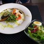 ラ ビストリア - 料理写真:サラダと前菜